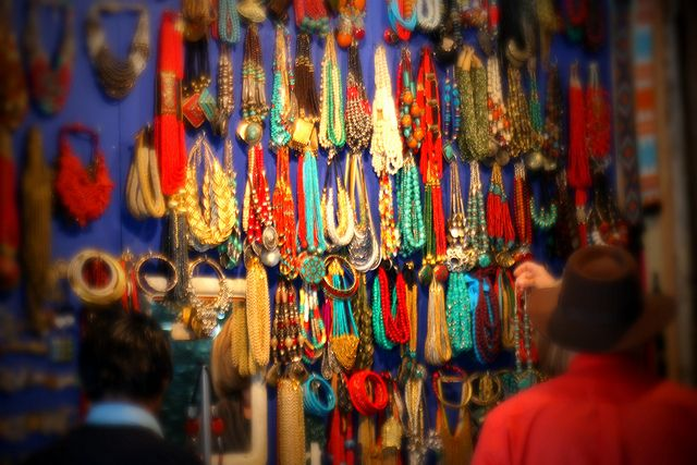 beads seller ~ Khan Market, New Delhi by www.facebook.com/AarSeePhotography, via Flickr