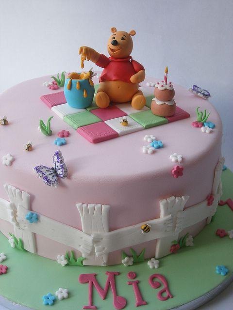 winnie the pooh cake   Winnie the Pooh cake   Flickr - Photo Sharing!
