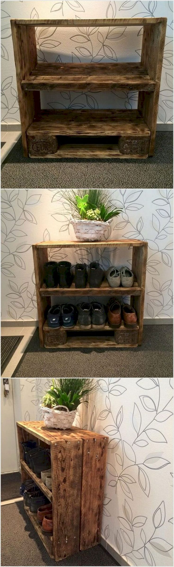 65 smart diy industrial shoe rack ideas