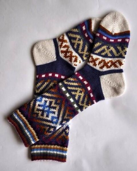 Cute long socks like these!