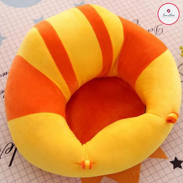 Soft Baby Infant Support Seat Sofa Cushion Animal Shaped Baby Learning Chair