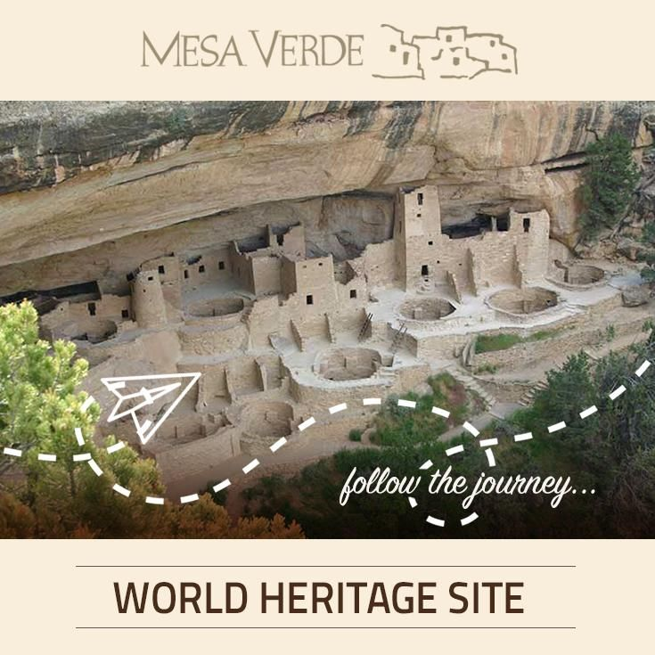 Protecting thousands of archaeological sites, includes hundreds of cliff dwellings, Mesa Verde National Park was named World Heritage Site in 1978. Come explore this historical beauty!