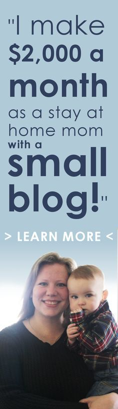 Make money blogging with as few as 1,000 monthly page views! Get real actionable tips to start earning an income blogging, and learn how to make a living as a blogger!