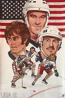 TEAM USA HOCKEY Canada Cup 1976 Poster - Lou Nanne, Robbie Ftorek, Mike Milbury, Craig Patrick etc.  - Available at www.sportsposterwarehouse.com