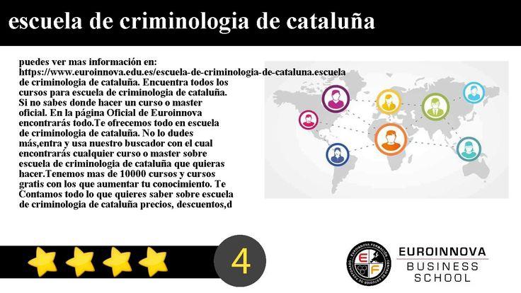escuela de criminologia de cataluña - puedes ver mas información en: https://www.euroinnova.edu.es/escuela-de-criminologia-de-cataluna.    escuela de criminologia de cataluña. Encuentra todos los cursos para escuela de criminologia de cataluña. Si no sabes donde hacer un curso o master oficial. En la página Oficial de Euroinnova encontrarás todo.    Te ofrecemos todo en escuela de criminologia de cataluña. No lo dudes másentra y usa nuestro buscador con el cual encontrarás cualquier curso o…