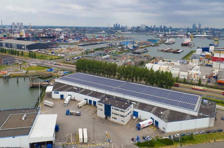 Maior porto da Europa recebe energia solar