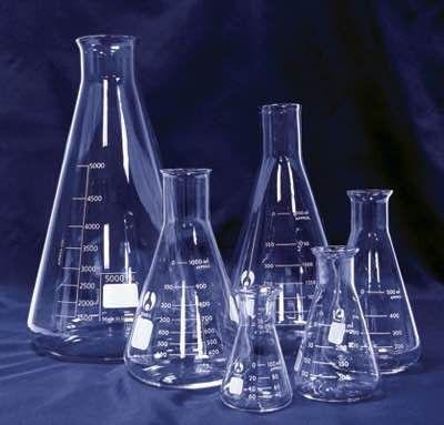 Med Lab Supply Graduated Erlenmeyer Flask 50ml   Med Lab Supply