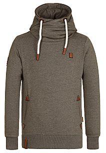 naketano Schwanzus Longus II - Hooded Sweatshirt for Men - Green