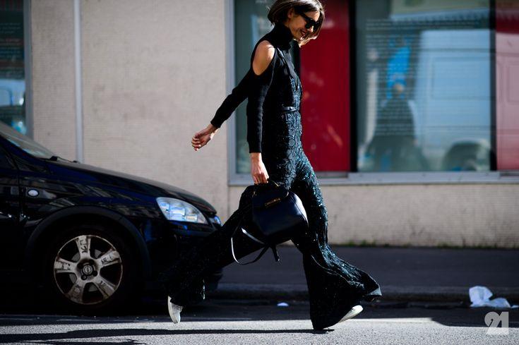 Julie Pelipas Fashion Editor Street Styles And Street