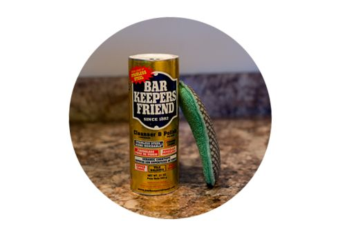 how to clean stainless steel appliances with bar keepers friend