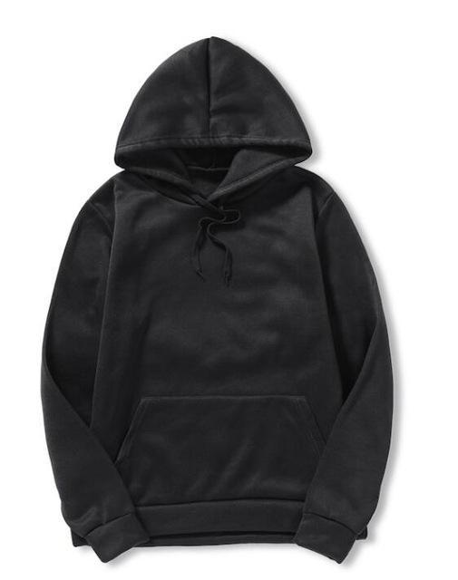 10861834ea0f3 Brand 2018 Hoodie Solid Color Hoodies Men Fashion Tracksuit Male Sweatshirt  Hoody Mens Purpose Tour Plus Size 4XL