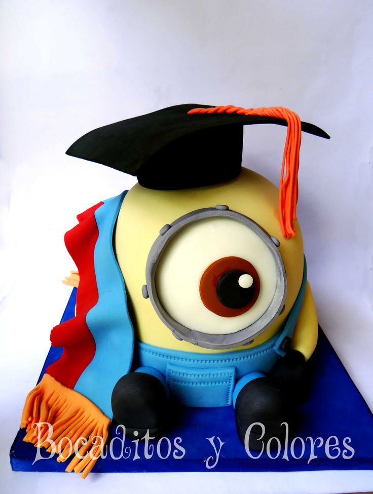 Graduation Minion Cake Funny Pics Pinterest Minion