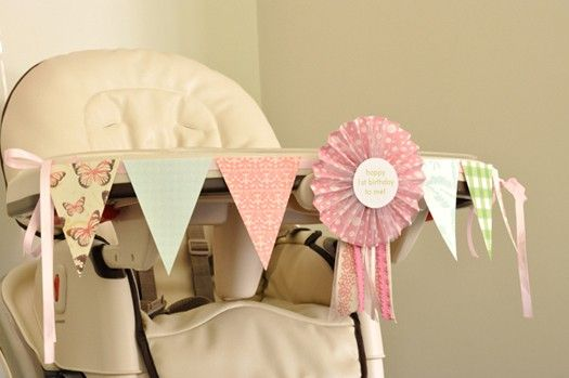 Banner- baby high chair: Birthday Parties, Chairs Decor, 1St Birthday, First Birthday Banners, First Birthdays, Birthday Baby, Highchair Decor, Highchair Banners, Baby High Chairs