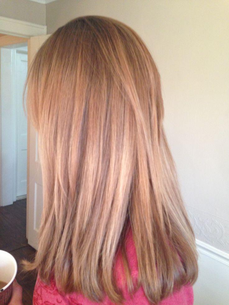 Strawberry Blonde Balayage Baby Pink Hair Soft Light My