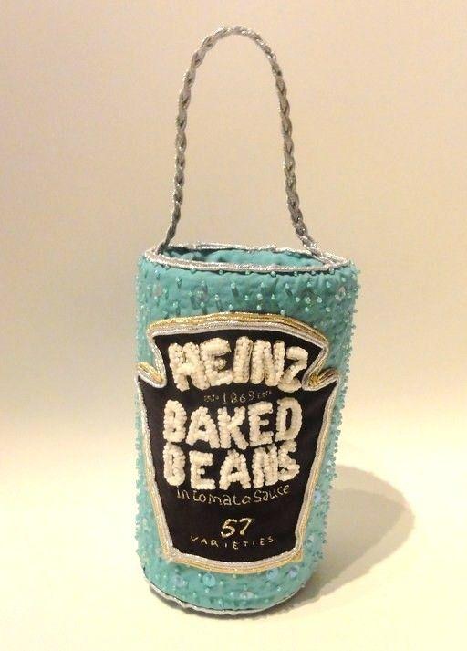 Heinz Baked Beans, beaded bag!