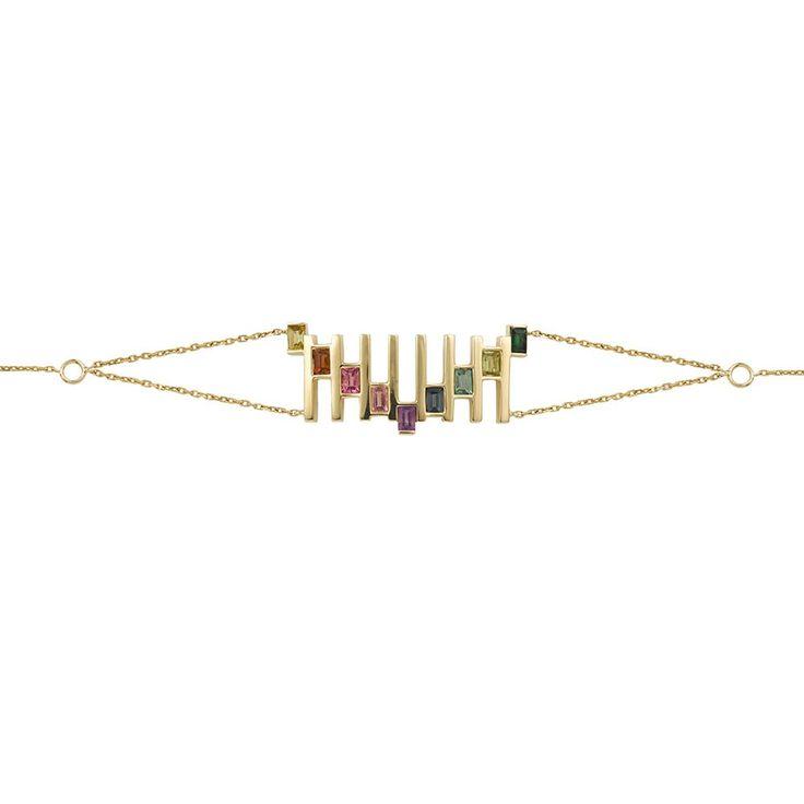 Bracelet 18K Gold Fine Jewelry Celestial RUIFIER   RUIFIER Jewelry