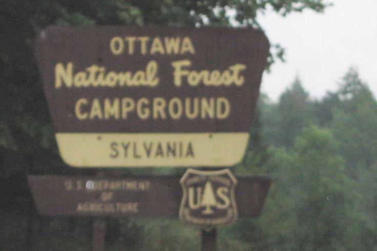 Ottawa National Forest - Sylvania Wilderness (mini boundary waters area)