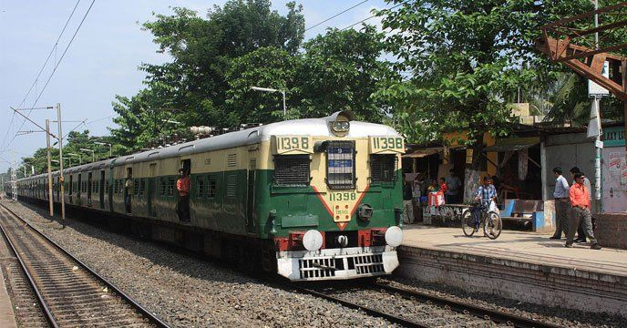 Local train west bengal