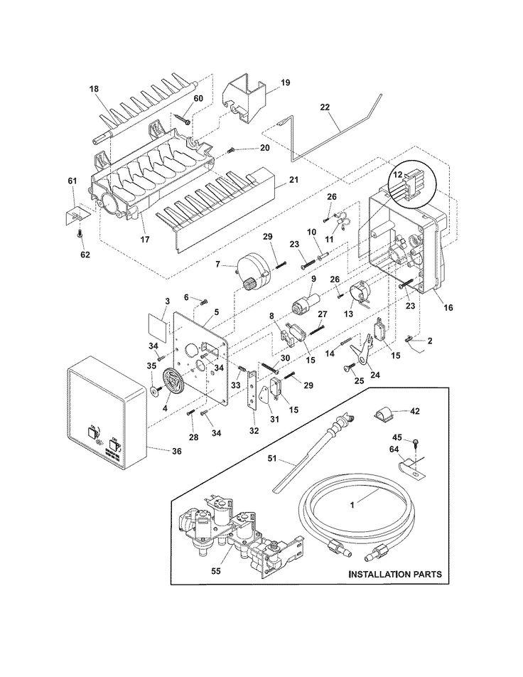 Best 25+ Frigidaire refrigerator parts ideas on Pinterest