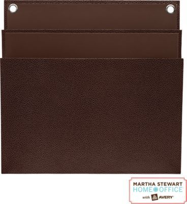 #MakeMoreMakeover Staples®. has the Martha Stewart Home Office™ with Avery® Large Shagreen Double File Pocket, 11-15/16 '' x 12-1/4'', Brown you need for home office or business. Shop our great selection, read product reviews and receive FREE delivery on all order