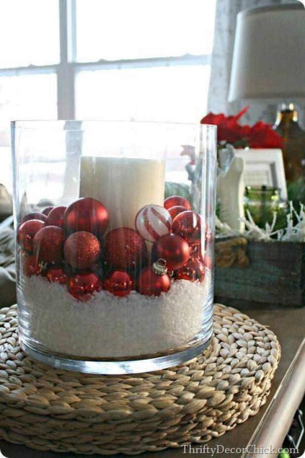 hermosas ideas para decorar con esferas en navidad adornos navideos