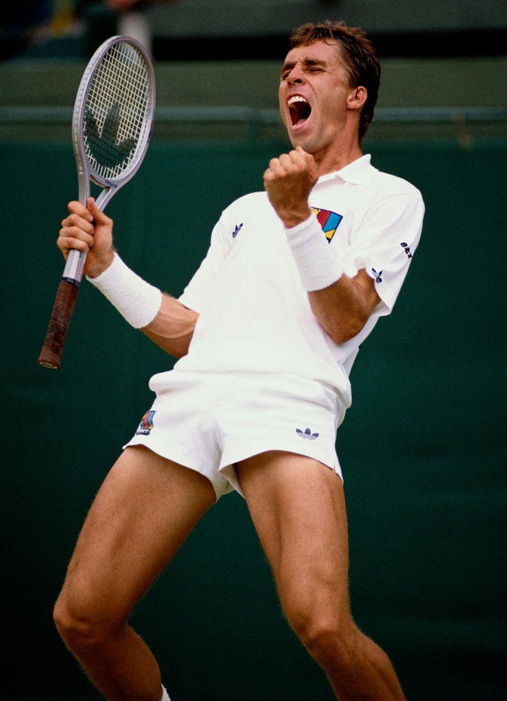 Ivan Lendl - 1989 Wimbledon Semifinal. (Photo by Bob Martin/Getty Images)