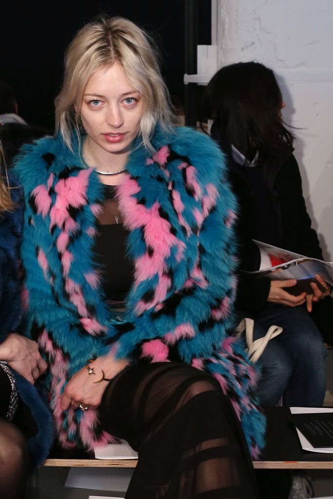 """CAROLINE VREELAND WHO: During New York Fashion Week, the musician also met with record labels to shop her debut album. AGE: 27 FAMILY MATTERS: Diana Vreeland was her great- grandmother. """"For me it's just exciting as a singer… for the designers to let me wear the clothes. All of it is great press for my music."""" WHERE: Christian Dior, Marc Jacobs, J.Mendel, Diane vonFurstenberg."""