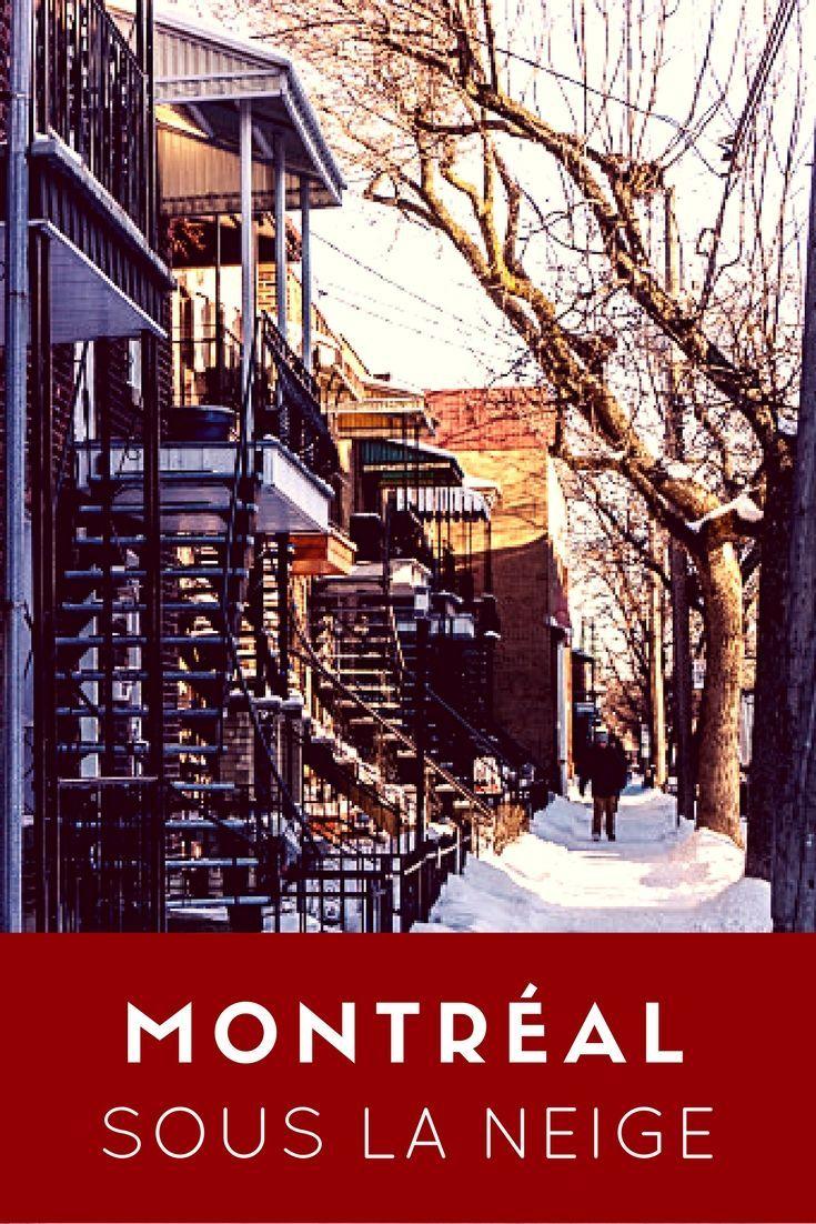 De la neige à Montréal, c'est devenu aussi rare qu'en Australie de nos jours… Pour ceux qui n'y vivent pas, imaginez-vous donc que nous avons des trottoirs dégarnis et que je sors en chaussures d'automne depuis des semaines à l'exception de ce matin où un