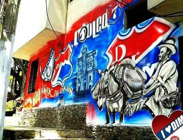 Mural parque robledo