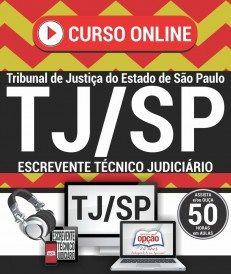 Curso Online Concurso TJ SP Escrevente Video Aulas Download Baixar