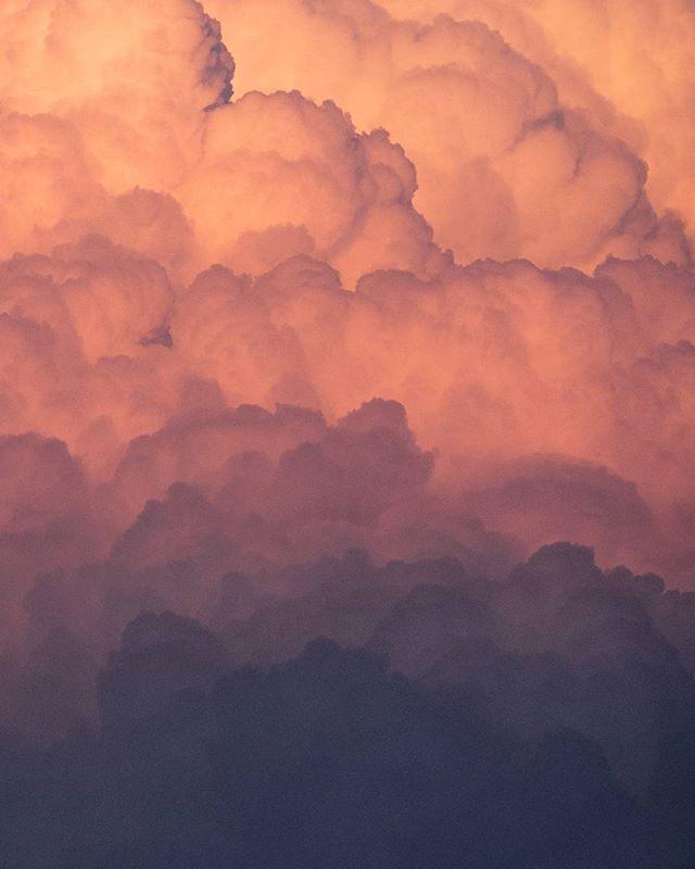 گرادیان رنگی چند دقیقه پیش آسمان تهران