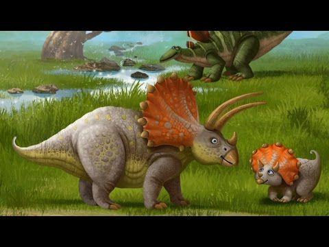 Развивающий мультик про динозавров для детей про занимательное путешествие в прошлое. Скачать приложение: https://itunes.apple.com/app/id627582238 и https://...