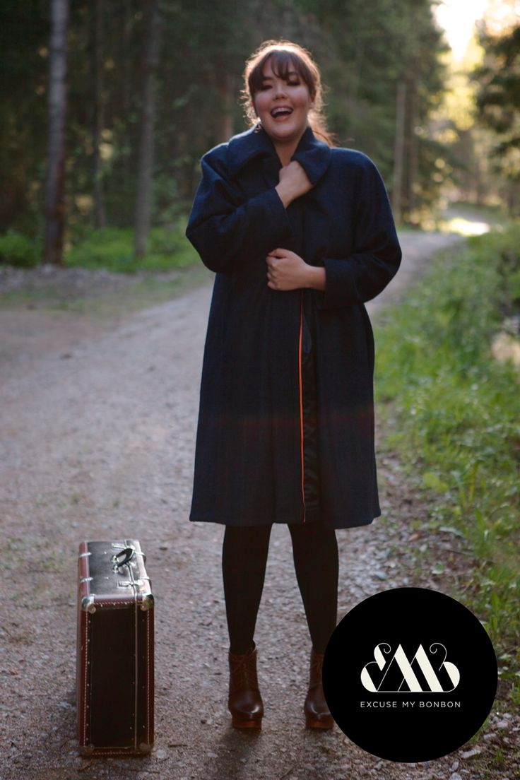 Grace Coat Photo: Sanna Saastamoinen-Barrois Make up: Janne Suono Model: Ninja Sarasalo