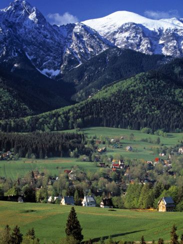 Zakopane, Tatra Mountains, Poland Photographic Print by Walter Bibikow at AllPosters.com
