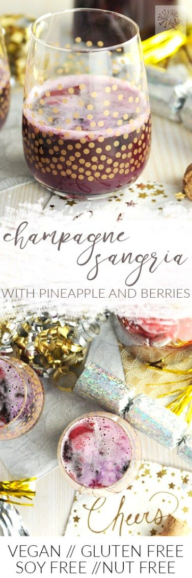 fried dandelions // champagne sangria