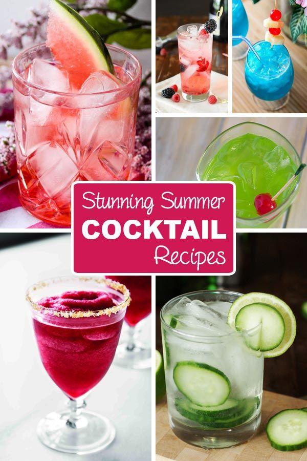 Stunning Summer Cocktail Recipes Dailyciosa