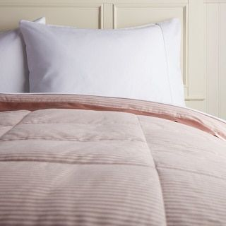 Shop for Hotel Madison 300 Oxford Stripe Down Blanket. Get free delivery at Overstock.com - Your Online Blankets