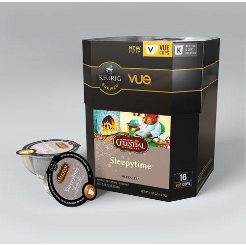 Keurig Vue Pack Celestial Seasonings Sleepytime Herbal Tea, 16ct
