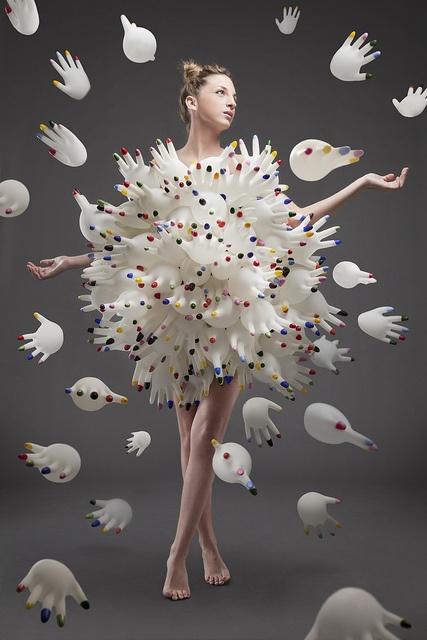 """Contaminazione"" | Model: Camilla Onesti, Photographer: Paco Matteo Li Calzi, 2008"