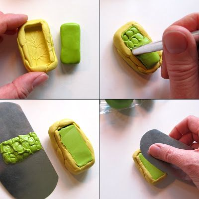*** Tutorial - Making my 'ugly' molds for my Rustic Nature Polymer Clay Pendants  by Unaodd