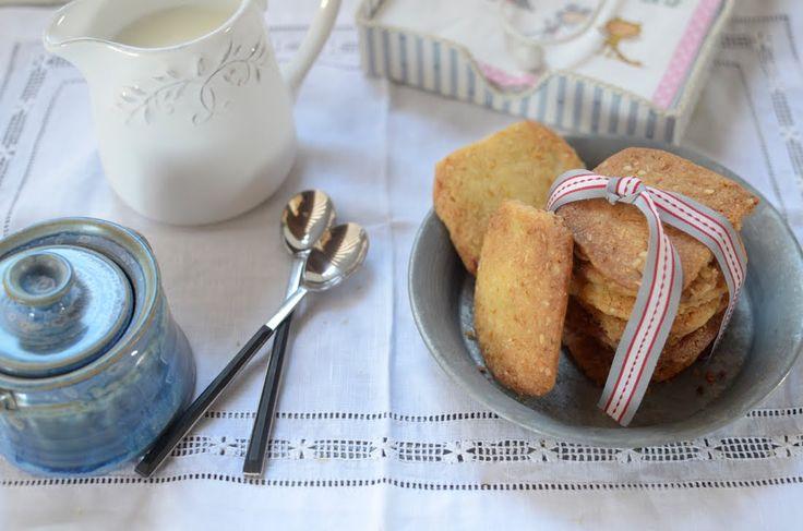 Cómo hacer galletas de naranja y almendra