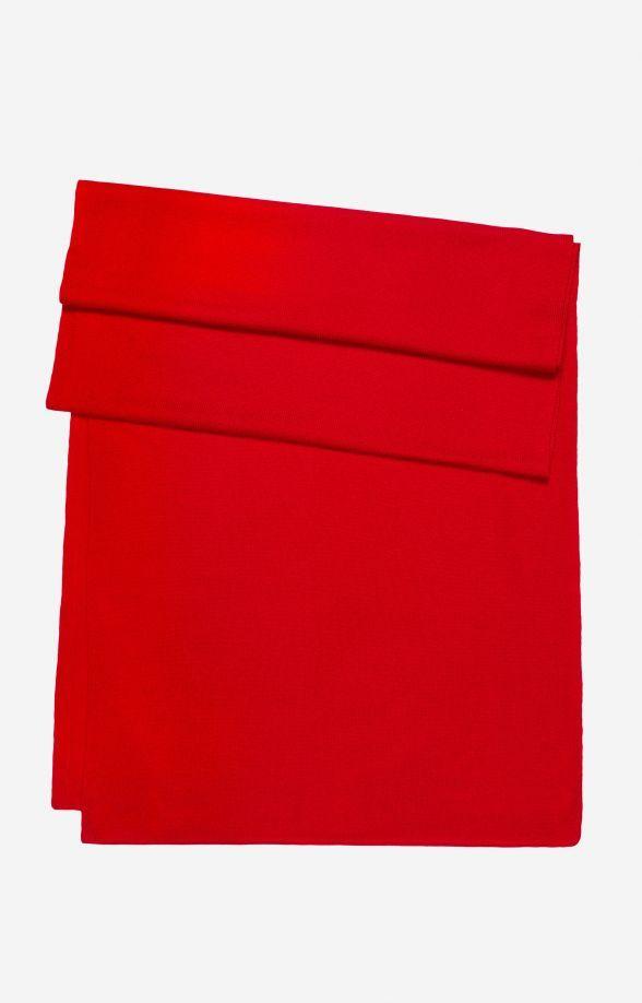 Czerwony szal LAMBERT 0000XJ7926