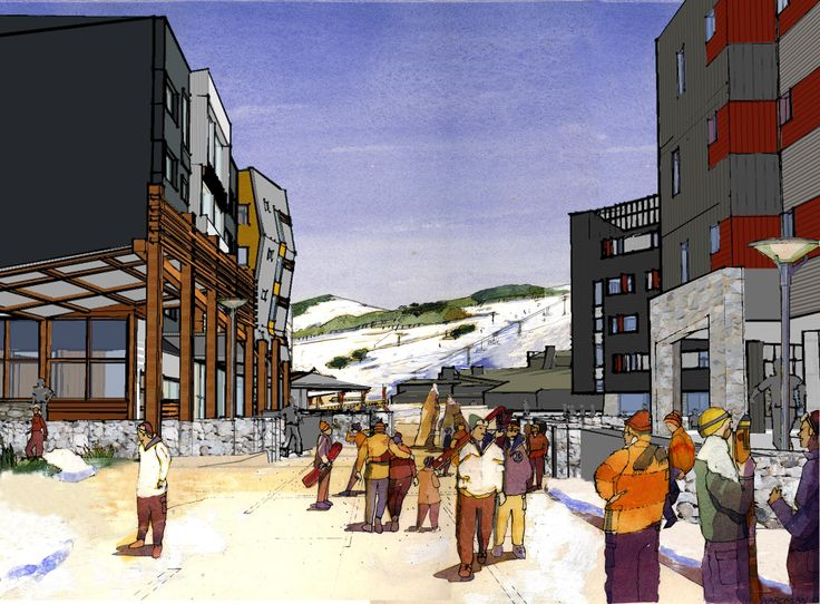 Perisher Village Masterplan, (current)