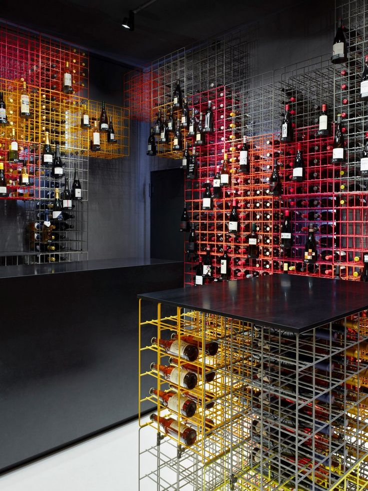 Fabulous wine cellars and wine storage solutions -Weinhandlung Kreis by Furch Gestaltung and Production