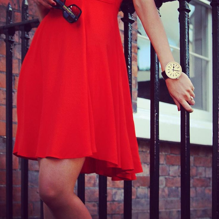 Lady in red | there's still time to get 20% off any watch at http://ift.tt/1GedDiR with the code BLACKFRIDAY20 #NewgateWatches #Newgate #drummer #Watch #NewgateWatch #Watches #reddress #blackfriday #discount #discountcode #drummerwatch #model #fashion #fblogger #british #uk # #sale #time
