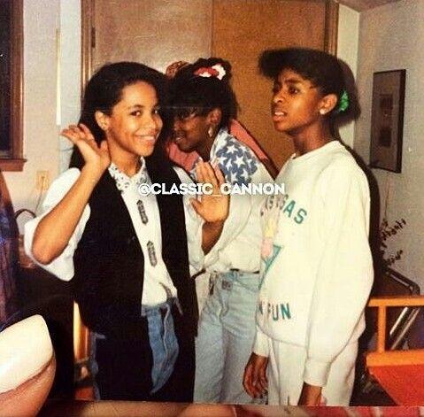 Old school Aaliyah