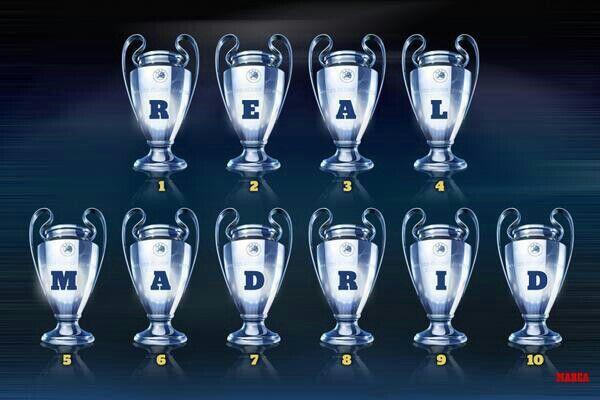 Real Madrid champions league 10 ريال مدريد . دوري الابطال . العاشرة