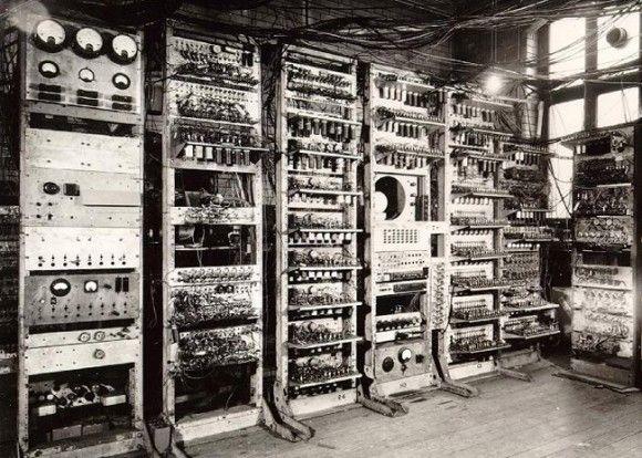 Alan Turing's computing machinery.
