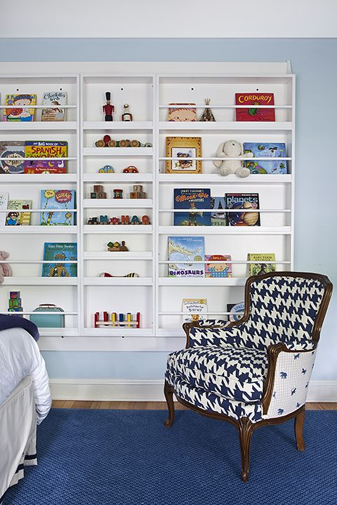 Kids need to be able to see what's on the shelves. Mona Ross Berman Interiors
