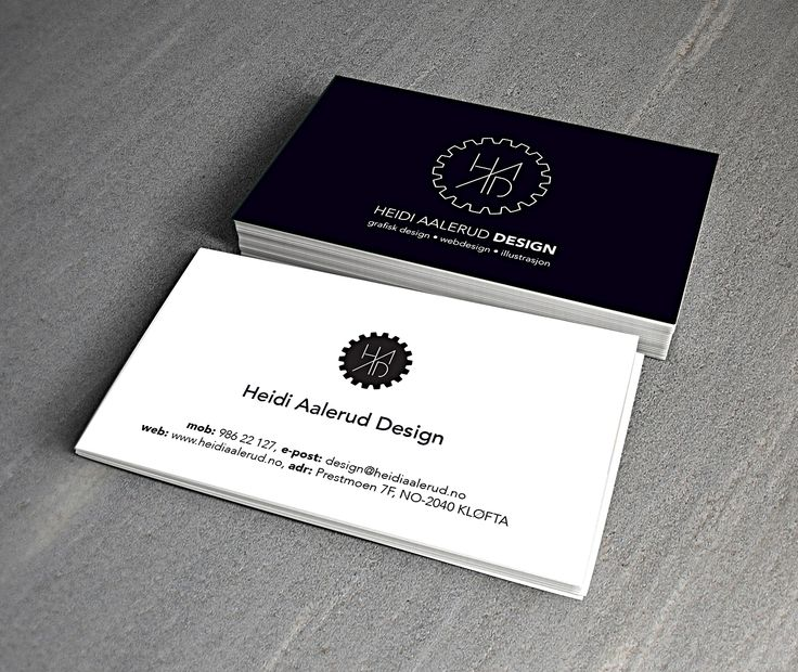 Self promotion - business cards